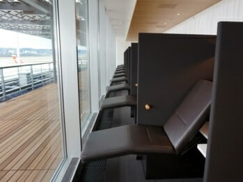 SWISS Senator Lounge – Zurich (ZRH) Concourse E (Non-Schengen) | Photo courtesy of rcs at vielfliegertreff.de