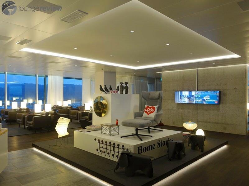 ZRH swiss business lounge zrh concourse e non schengen 07204
