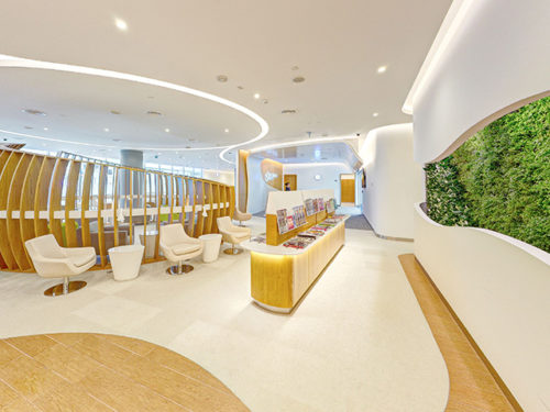 SkyTeam Exclusive Lounge - Dubai (DXB) | © SkyTeam