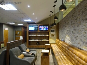 South African Airways VIA Lounge - Johannesburg (JNB) Domestic Terminal