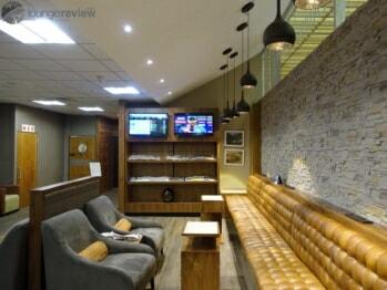 South African Airways VIA Lounge - Johannesburg (JNB) Domestic Terminal