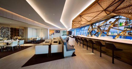 Etihad Airways First & Business Class Lounge - New York JFK   © Etihad