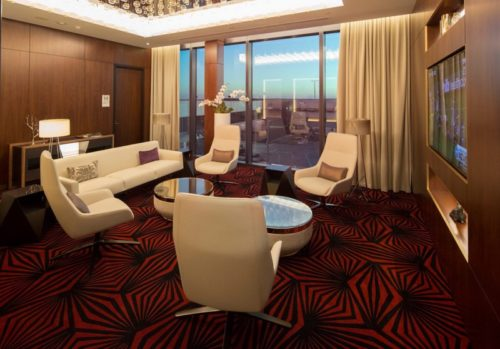 Private room for The Residence passengers at the Etihad Airways First & Business Class Lounge - Melbourne (MEL)   © Etihad