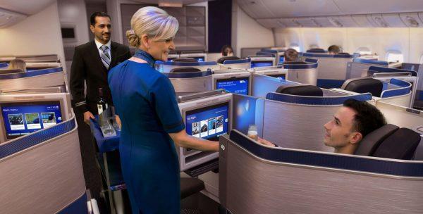 United Polaris business class seating | © United