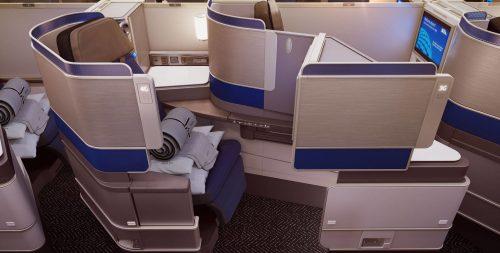 United Polaris seats - Courtesy of United