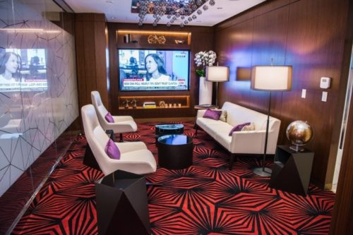 Etihad Airways First & Business Class Lounge - Los Angeles, CA (LAX)   © Etihad / Anthony Collins Photography