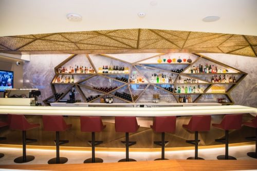 Etihad Airways First & Business Class Lounge - Los Angeles, CA (LAX) | © Etihad / Anthony Collins Photography