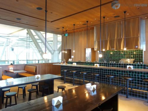 Plaza Premium runs and caters the Cathay Pacific First and Business Class Lounge - Vancouver, BC (YVR)