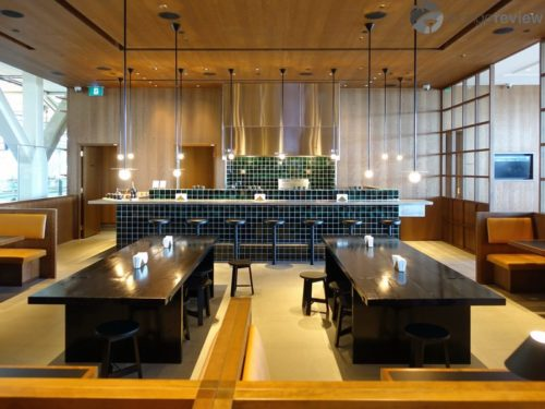 Noodle bar at the Cathay Pacific Lounge - Vancouver, BC (YVR)