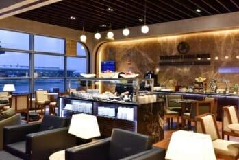 Turkish Airlines Lounge - Washington, DC (IAD) | © Turkish Airlines