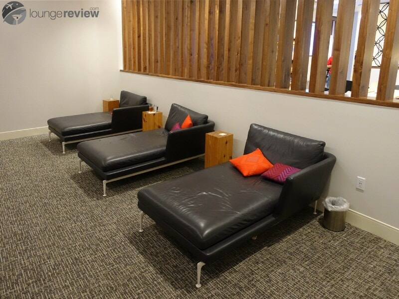 Day beds at American Express The Centurion Lounge - Houston Intercontinental, TX (IAH)