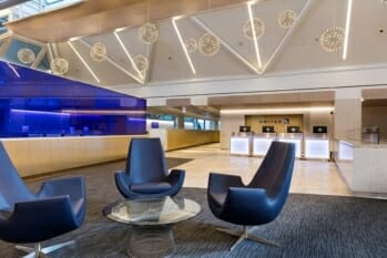 United Club - Chicago O'Hare (ORD) Terminal 1, gate B6 | © United