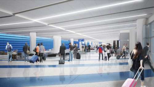 New United LAX baggage claim area at Terminal 7 | © United