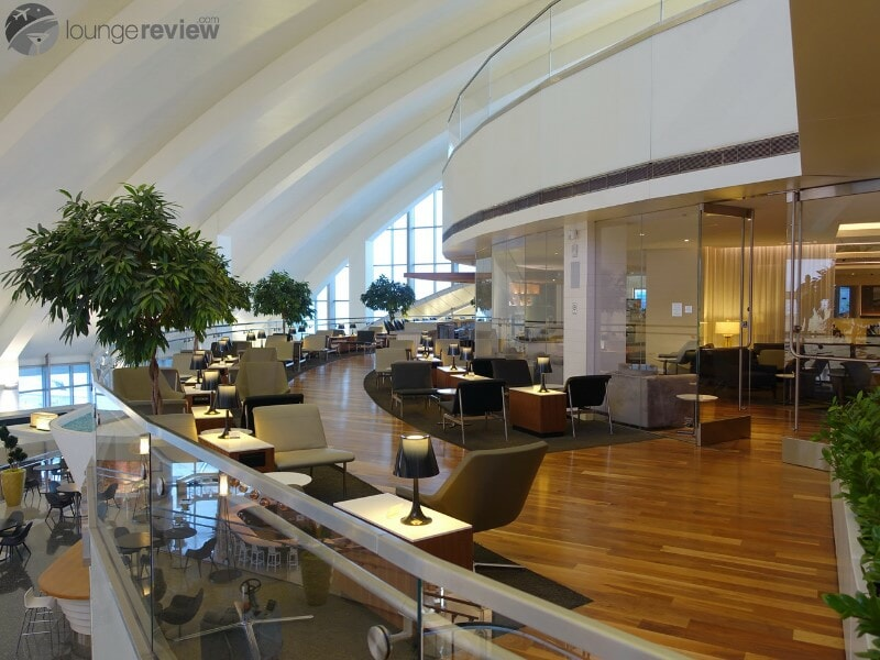 LAX star alliance business class lounge lax 08588