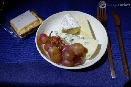 United Polaris cheese course