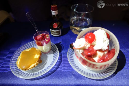 United Polaris desserts