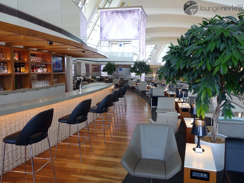 Star Alliance Business Class Lounge Los Angeles