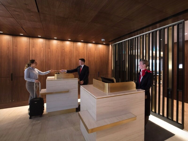 The Qantas Lounge At London Heathrow Is Finally Open And