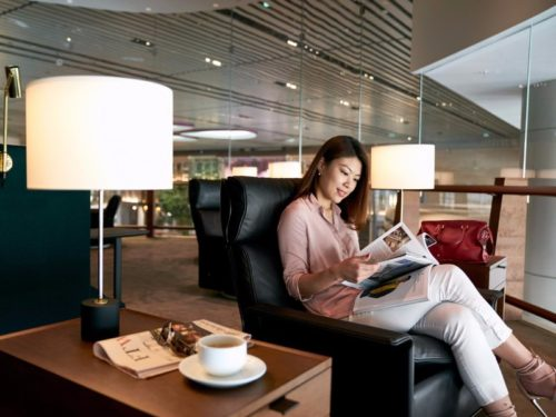 Cathay Pacific Lounge - Singapore (SIN) | © Cathay Pacific