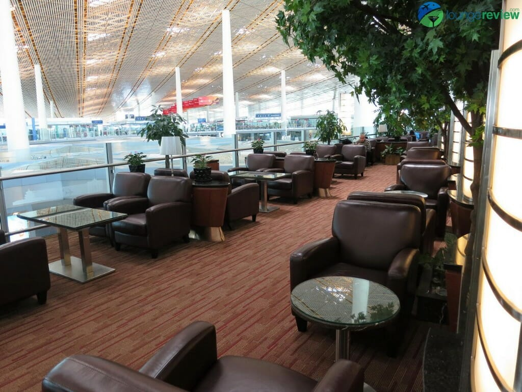 Air China International Business Class Lounge - Beijing Capital (PEK) Terminal 3E