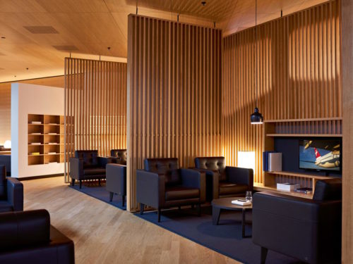 The new SWISS First Class Lounge - Zurich (ZRH) Dock A