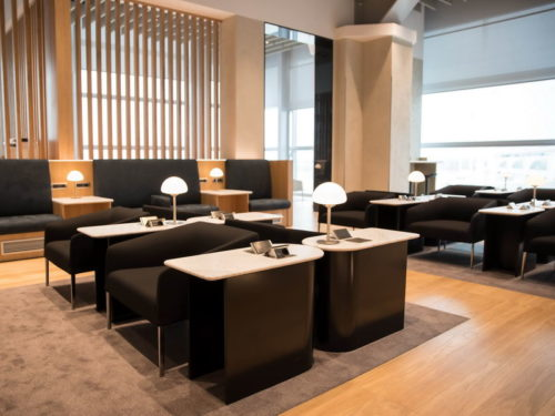 British Airways Lounge - Rome Fiumicino (FCO)