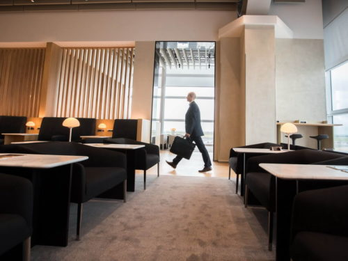 British Airways Lounge - Rome Fiumicino (FCO)