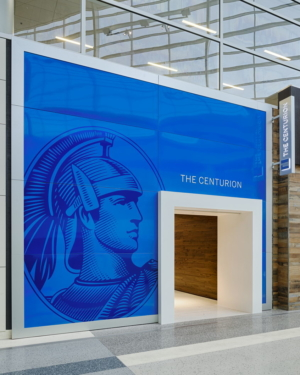 American Express The Centurion Lounge Dallas-Ft. Worth (DFW) entrance