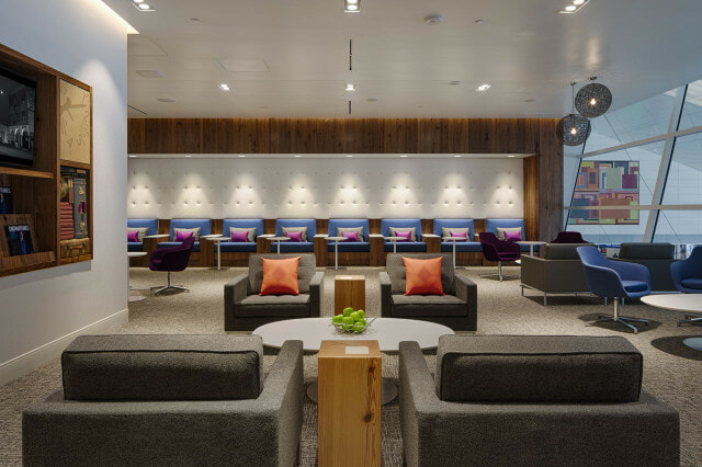 American Express The Centurion Lounge Dallas-Ft. Worth (DFW) seating