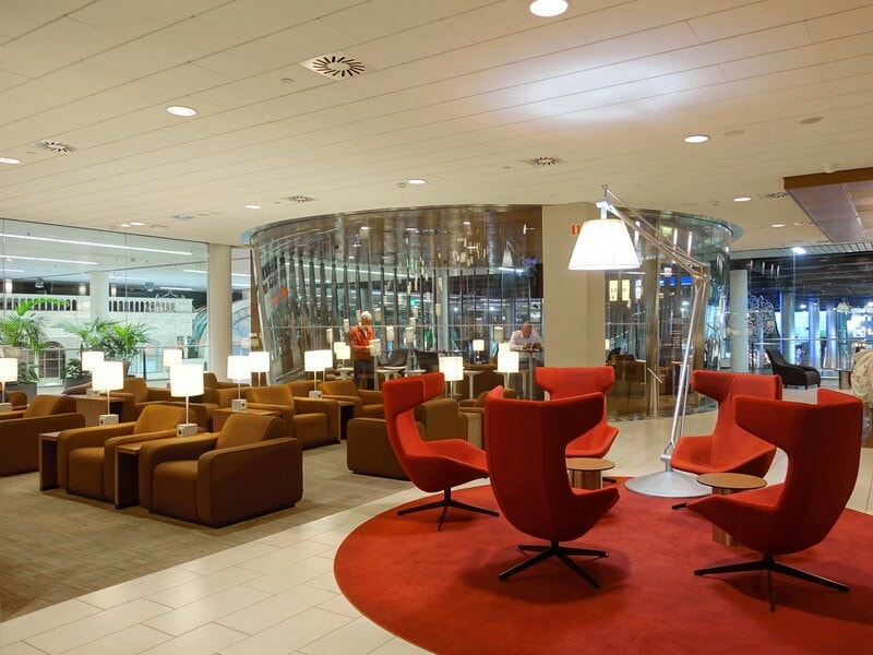 Lounge Review Klm Crown Lounge 25 Ams Schengen