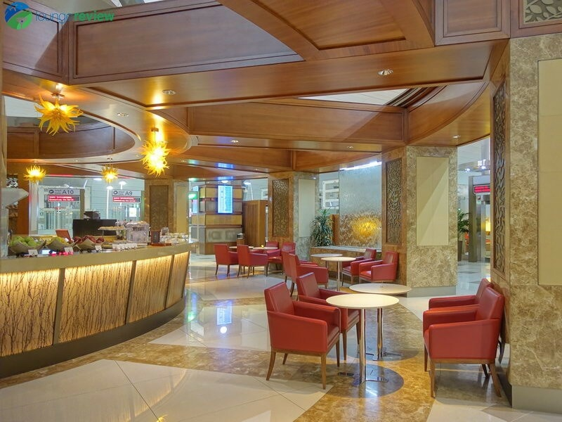 Lounge Review: Emirates Business Class Lounge – DXB T3A ...