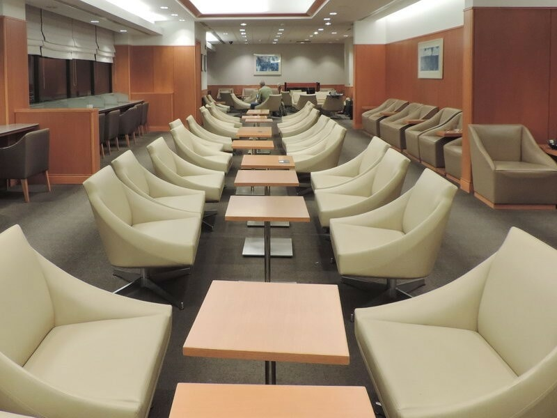 Lounge Review Jal Sakura Lounge American Airlines