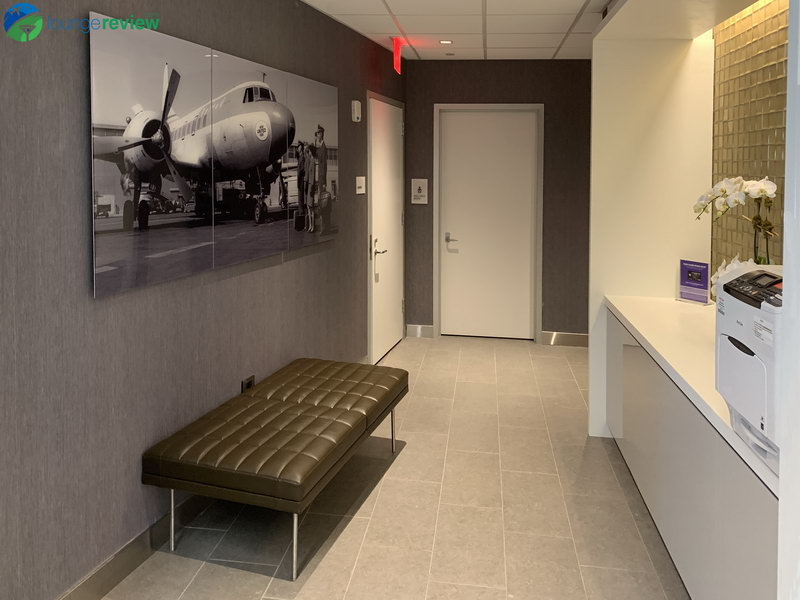 Printer and access to wellness room at the United Club LGA
