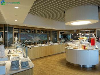 Lufthansa Lounge - Boston, MA (BOS)