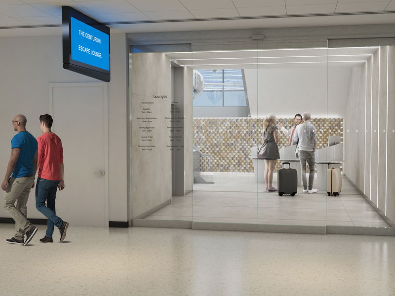 JUST IN: American Express brings The Centurion Lounge to Phoenix in partnership with the Escape Lounge | LoungeReview.com