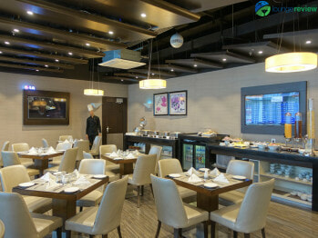 Petra Lounge dining room - Amman (AMM)