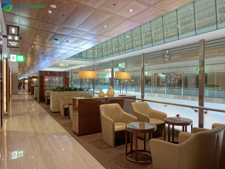 DXB emirates business class lounge dxb concourse b 08299 768x576
