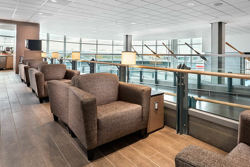 Plaza Premium Lounge - Vancouver, BC (YVR) Domestic Terminal near gate C29