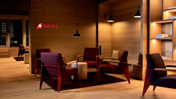 Uniquely authentic: the new SWISS Alpine Lounge at Zurich airport