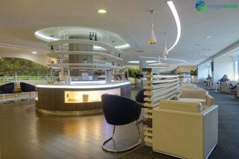 SkyTeam Lounge London Heathrow