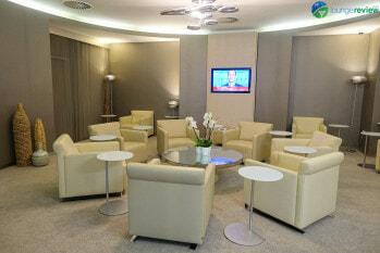 SkyTeam Lounge London Heathrow First Class/VIP room