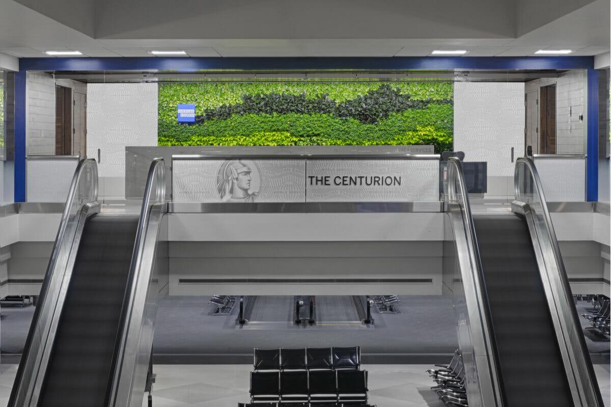 The Centurion Lounge Denver (DEN) entrance