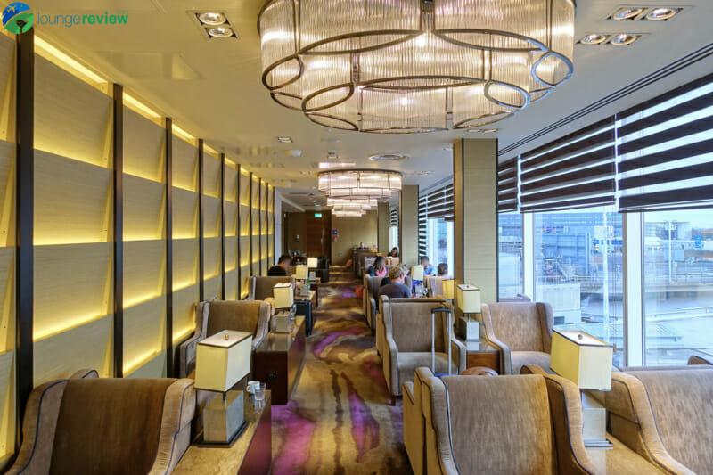 Plaza Premium Lounge London Heathrow Terminal 4 seating area