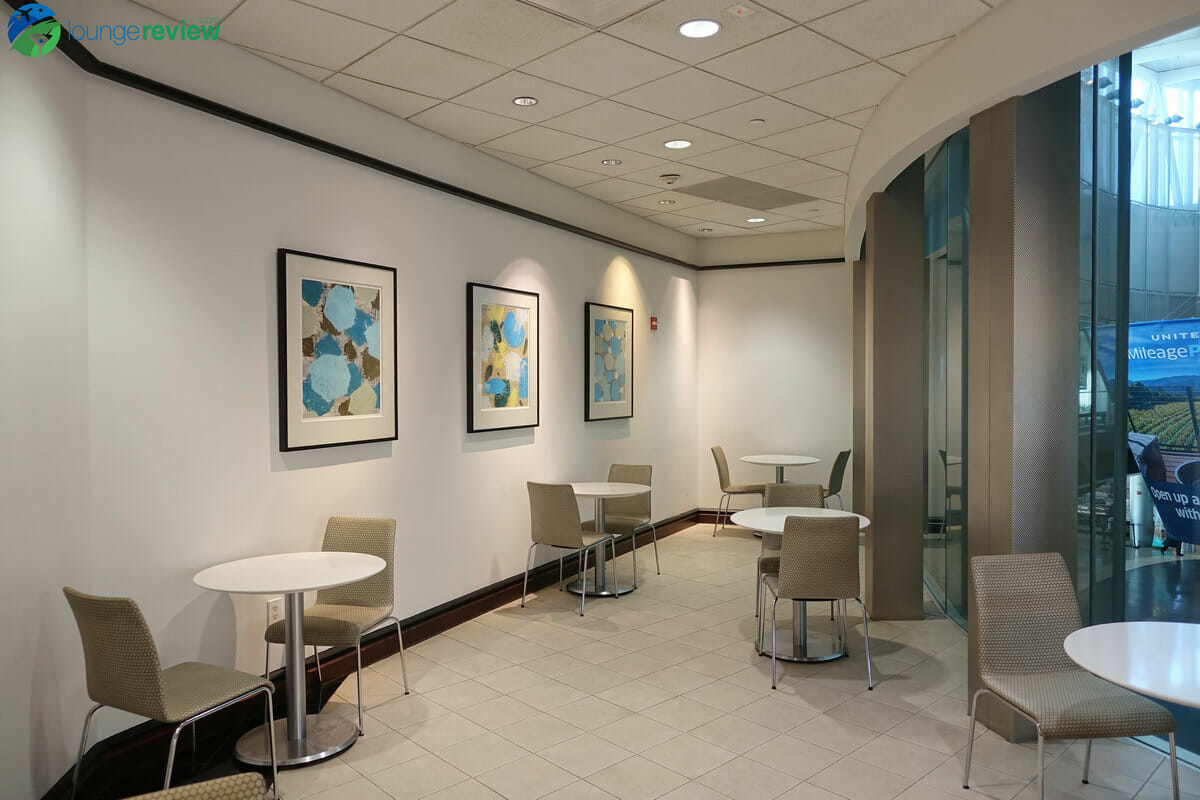 United Club Houston Terminal E nook